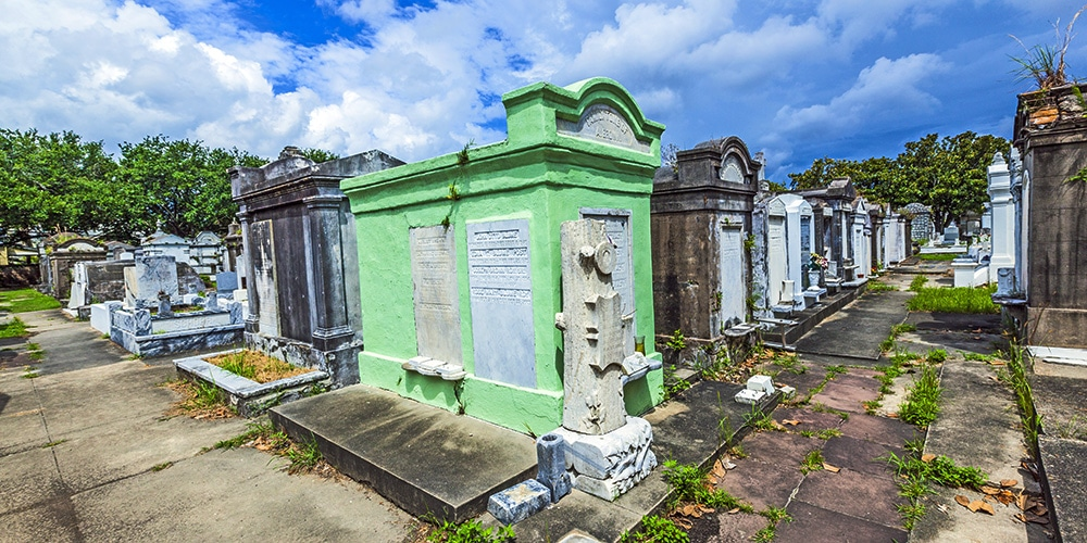new orleans film locations lafayette cemetery