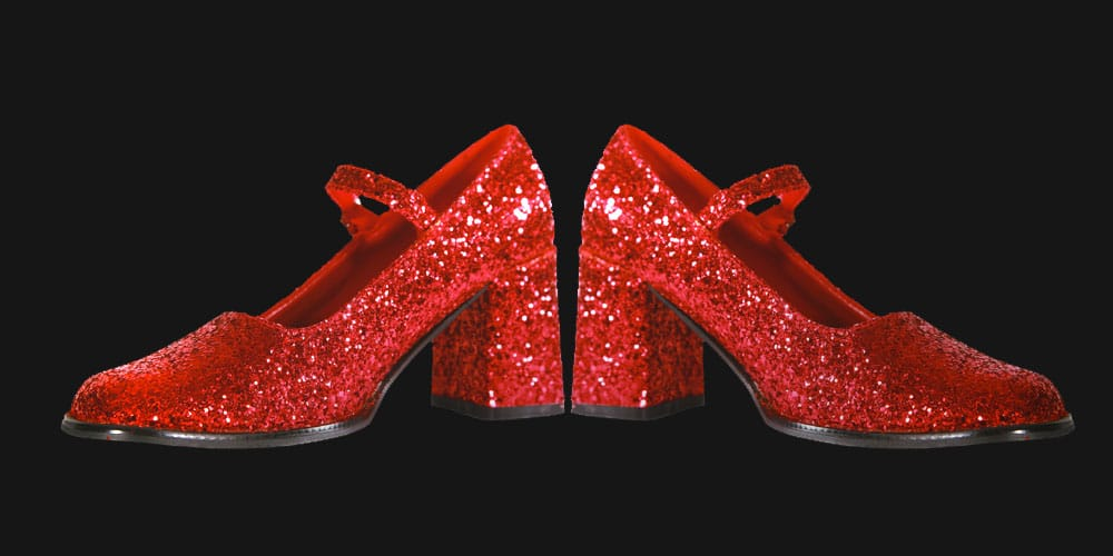where to see the ruby slippers