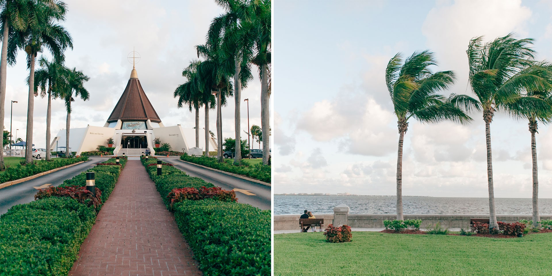 Peace out at Coconut Grove Church and its behind-the-scenes views. (Photo: Esteban Hernandez)