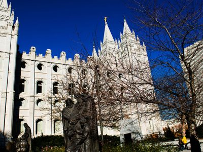 family history library salt lake city temple square