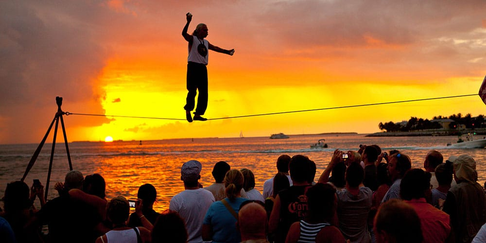 The Key West Sunset Celebration