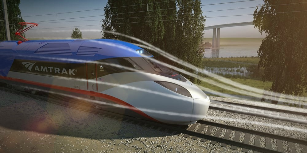 Amtrak's redesigned Acela will be more aerodynamic, enabling it to travel at faster speeds.