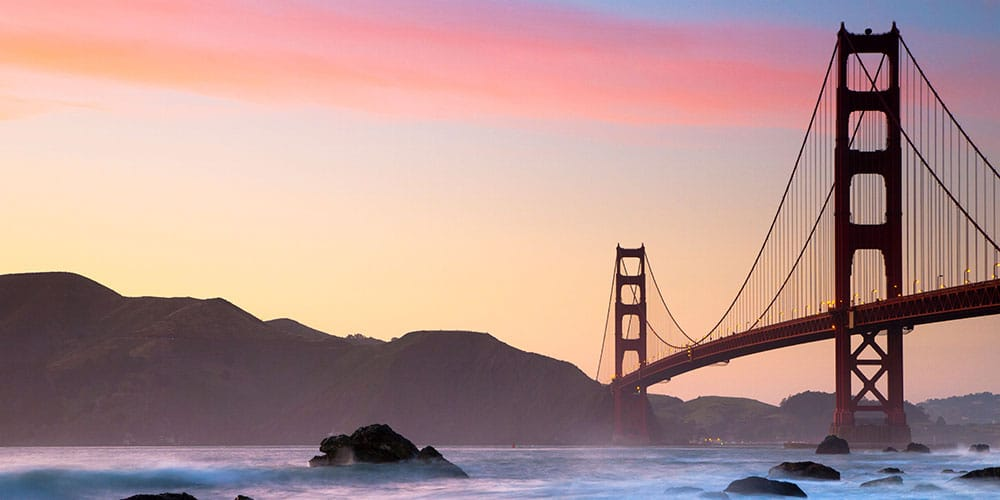 Must-do activity in San Francisco: Walk the Golden Gate Bridge