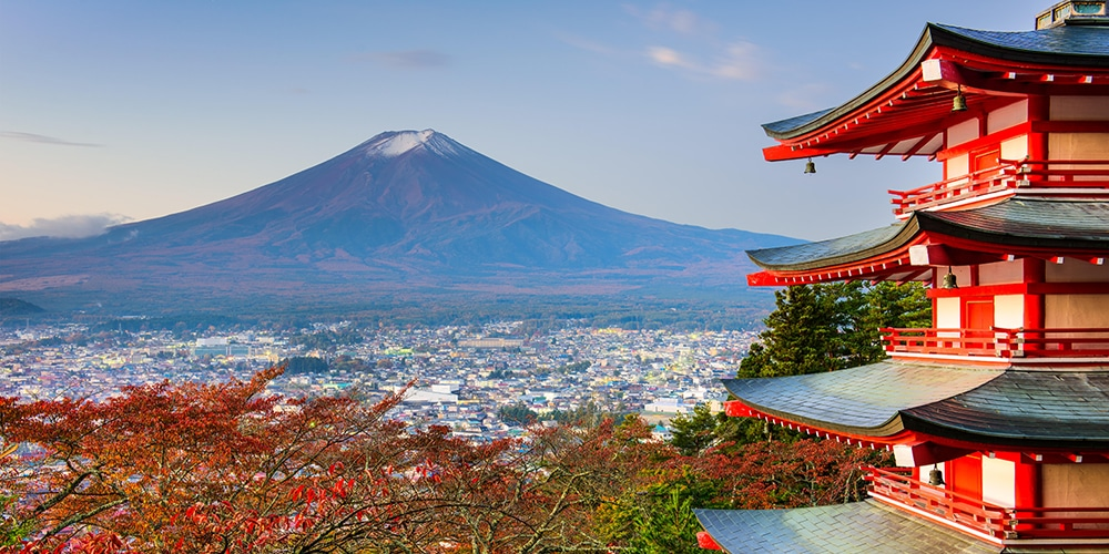 Tokyo must-see attractions: Mt. Fuji.