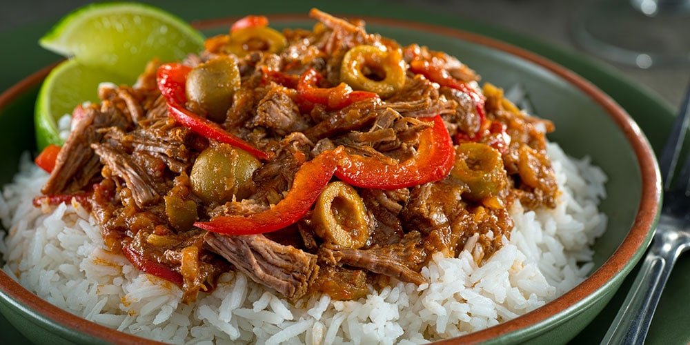 Tuck Into A Heaping Plate Of Ropa Vieja For Your Cuban Food Fix Photo Alamy