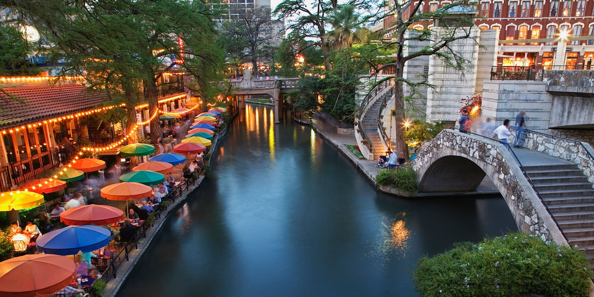 stroll the past present and future along san antonios river walk